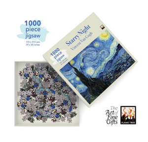 Van Gogh:  Starry Night, 1000-piece jigsaw