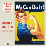 Rosie the Riveter, 1000-piece jigsaw