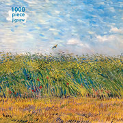 Van Gogh Wheatfield with Lark , 1000-piece jigsaw