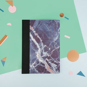 Blue Marble, A4 Quarterbound Notebook