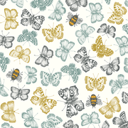 Butterflies and Bees, Eden Project, Greeting Card