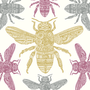 Native black honeybee, Eden Project, Greeting Card