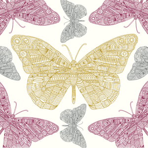 Butterfly, Eden Project, Greeting Card