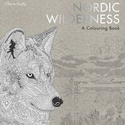 Nordic Wilderness, Colouring Book