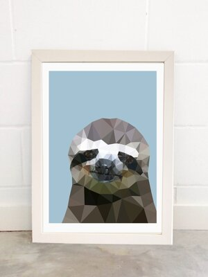 Sloth, Print A3