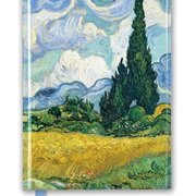 Van Gogh: Wheat Field with Cypresses, Foiled Journal