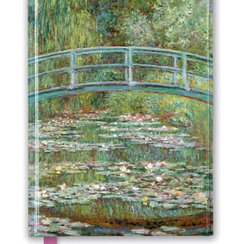 Claude Monet: Bridge over a Pond of Water Lilies, Foiled Journal