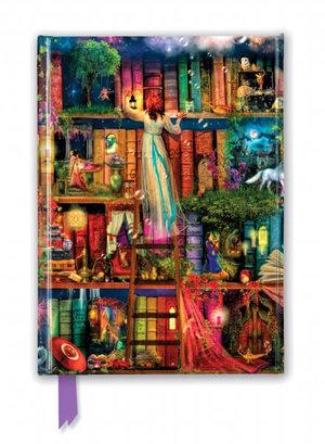 Aimee Stewart: Treasure Hunt Bookshelves, Foiled Journal