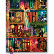 Aimee Stewart: Treasure Hunt Bookshelves, Foiled Journal