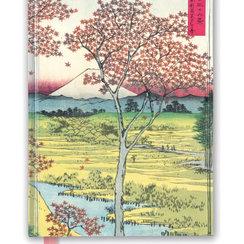 Hiroshige: Twilight Hill, Foiled Journal