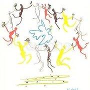 Ronde de la Jeunesse (1961), Pablo Picasso, Greeting Card