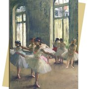 E. Degas/ The Rehearsal, Greeting Card
