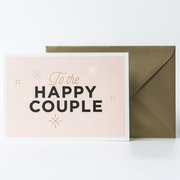 Happy Couple, Greeting Card