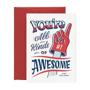 All Kinds of Awesome, Greeting Card