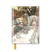 Arthur Rackham: Alice in Wonderland Tea Party, Foiled Pocket Book