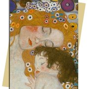 G. Klimt/ Three Ages of Woman, Greeting Card