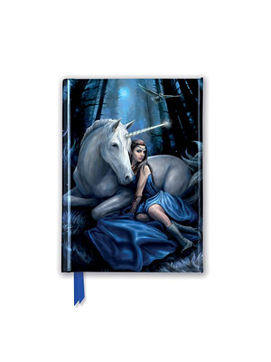 Anne Stokes: Blue Moon, Foiled Pocket Book