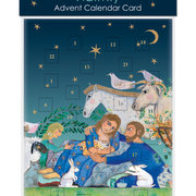 Nativity, Advent Calendar Cards