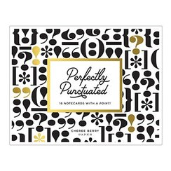 Perfectly Punctuated Greeting Assortment Boxed Notecards
