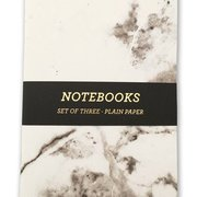 Marble, Notebook 3-pack A5