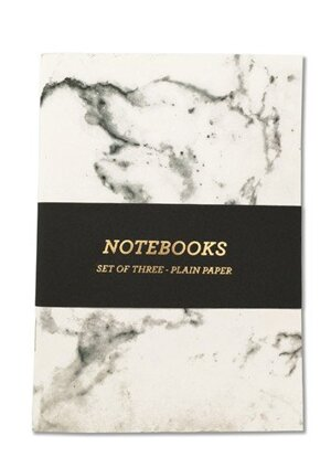 Marble, Notebooks 3-pack A6