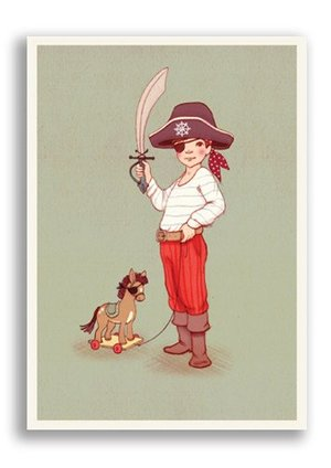 Ahoy There, Belle & Boo Playtime Postcards