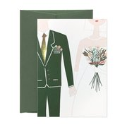 Mr & Mrs, Greeting Card