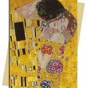 G. Klimt/ The Kiss, Greeting Card