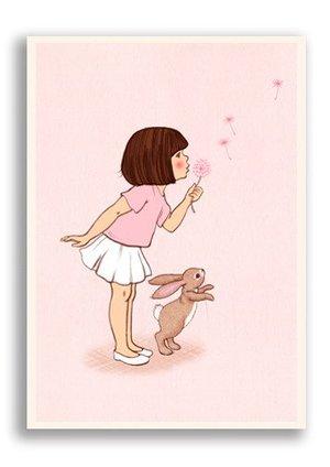 Dandelion, Belle & Boo Playtime Postcards