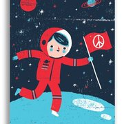B.Javens/Spaceman, Postcard