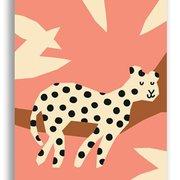 Leopard, Anna Kövecses Postcards