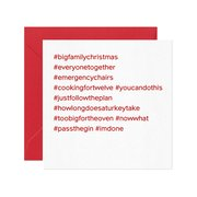 #bigfamilychristmas, Greeting Card