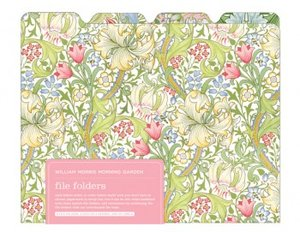William Morris Morning Garden File Folders
