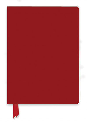 Red Artisan Notebook