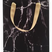 Black Marble Medium Gift Bag