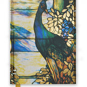 Tiffany Standing Peacock, Foiled Mid-Size Journal