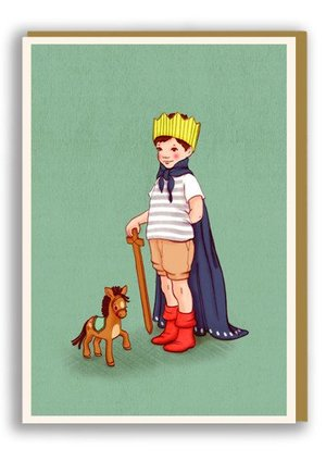 I am King, Belle & Boo Playtime Cards