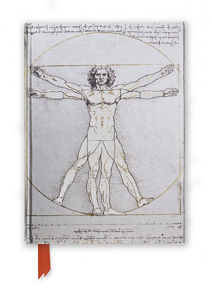 Da Vinci: Vitruvian Man (Foiled Journal)