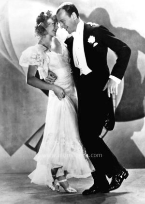 Fred Astaire & Ginger Rogers, Greeting Card