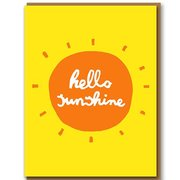 Hello Sunshine, Greeting Card