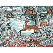 Angela Harding/ Winter Woodland