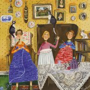 The Crafty Ladies, Greeting Card
