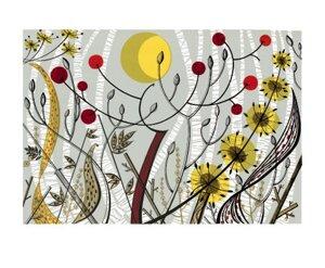 Birches, Ballindalloch, Greeting Card
