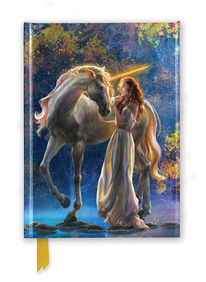 Elena Goryachkina: Sophia and the Unicorn (Foiled Journal)