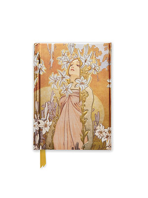Mucha The Flowers: Lily (Foiled Pocket Journal)