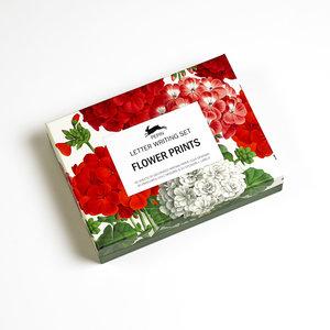 Flower Prints, Letter Writing Set
